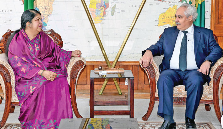 Turkish Ambassador in Dhaka meets Speaker Dr Shirin Sharmin Chaudhury