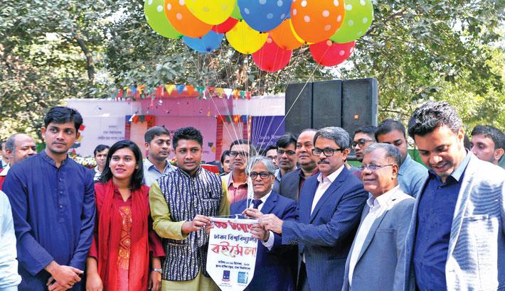'Dhaka University Book Fair'