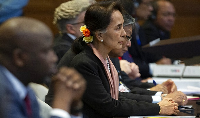 Fallen rights icon at UN court for Rohingya genocide case