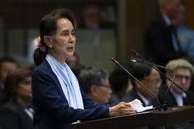 Suu Kyi speaks in Myanmar's genocide defense at ICJ