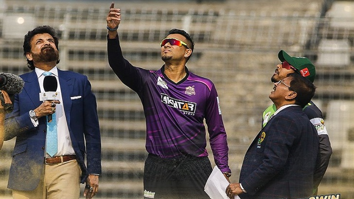 Chattogram Challengers win toss, opt to field against Sylhet Thunder