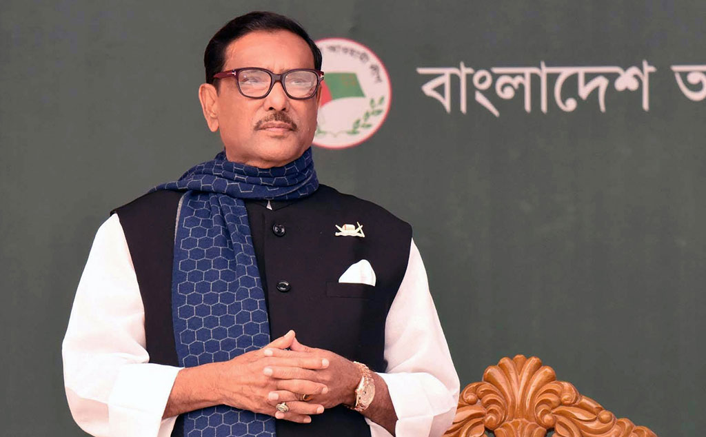Minority people are living in peace: Quader