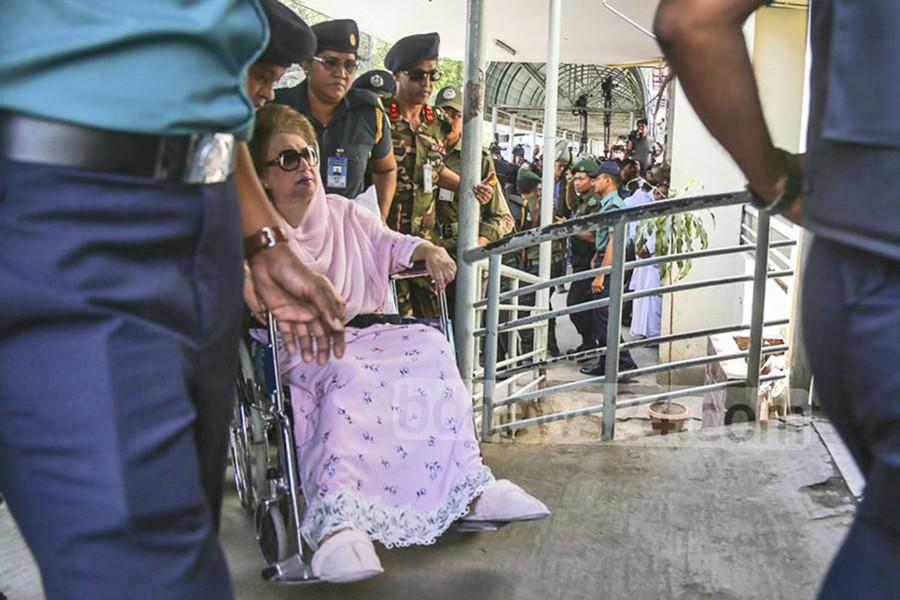 Supreme Court to hear Khaleda's bail plea today