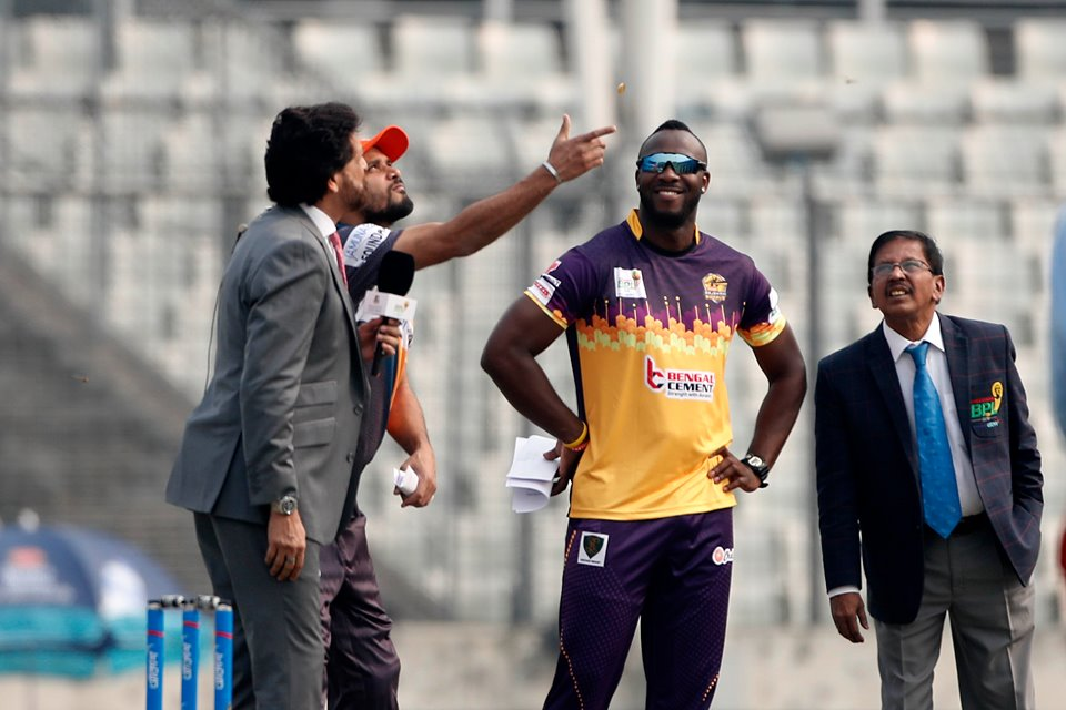 Rajshahi Royals win toss, bowl first against Dhaka Platoon