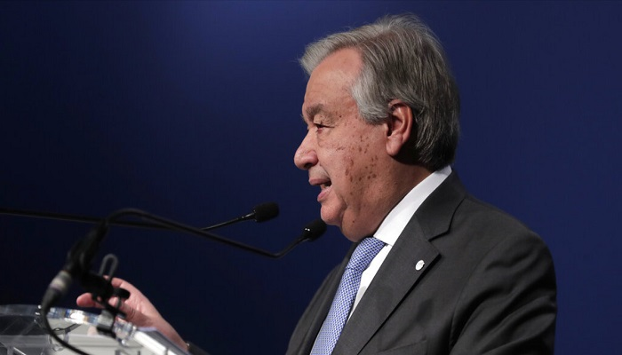 UN chief: Failure on climate will mean economic disaster