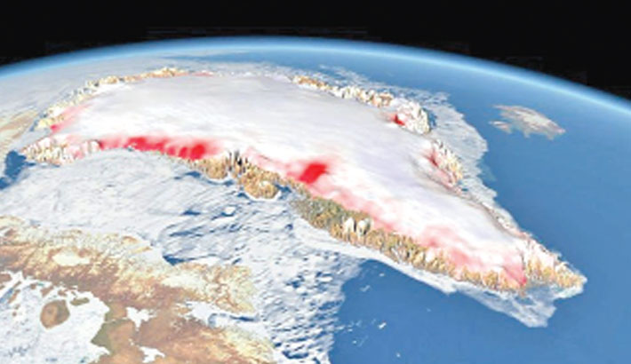 Greenland ice melt 'is accelerating'