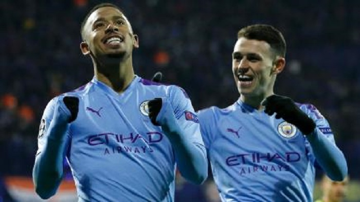 Jesus hat-trick inspires Man City win in Zagreb