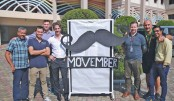 ISD observes 'Movember' to raise funds for children with cancer