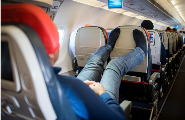 Passengers' most disgusting habits during a flight