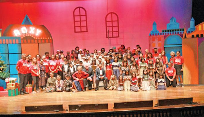 Annie Kids staged at ISD