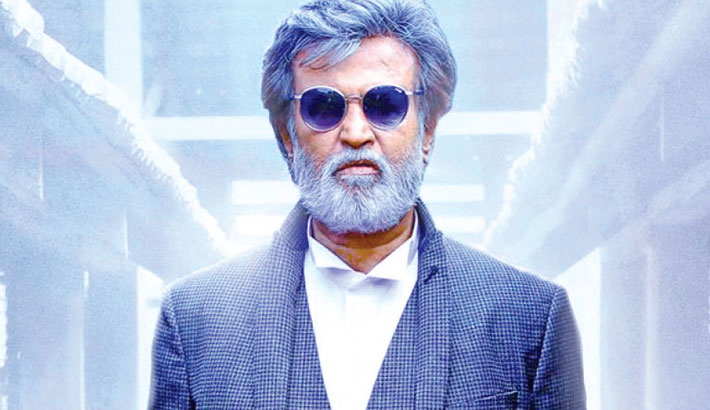 Rajini's upcoming film gets special poster on birthday
