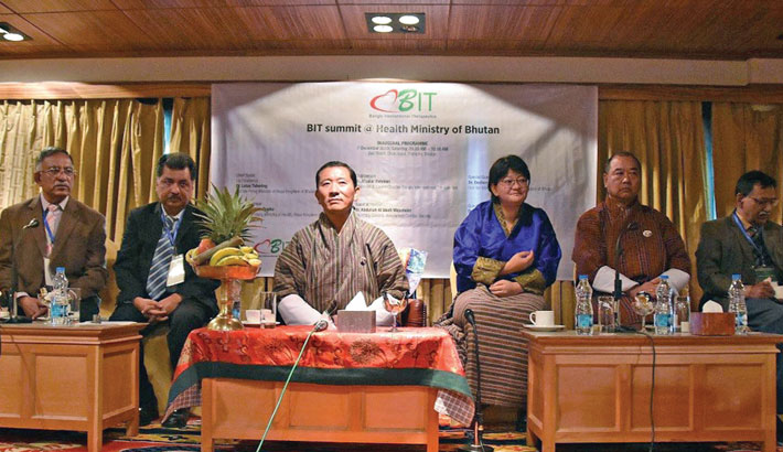 Bhutanese Prime Minister attends a conference on Health in Thimphu