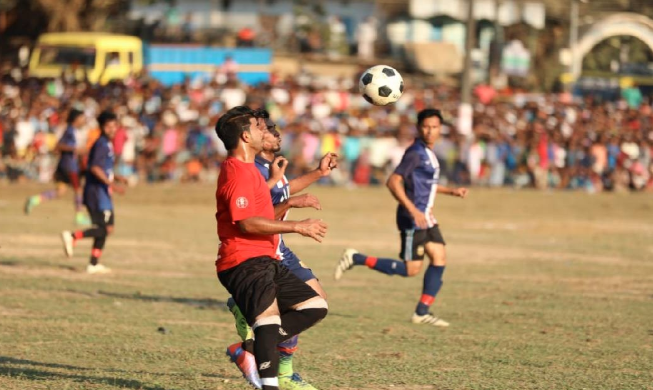 Football event promoting social cohesion concludes in Ukhiya