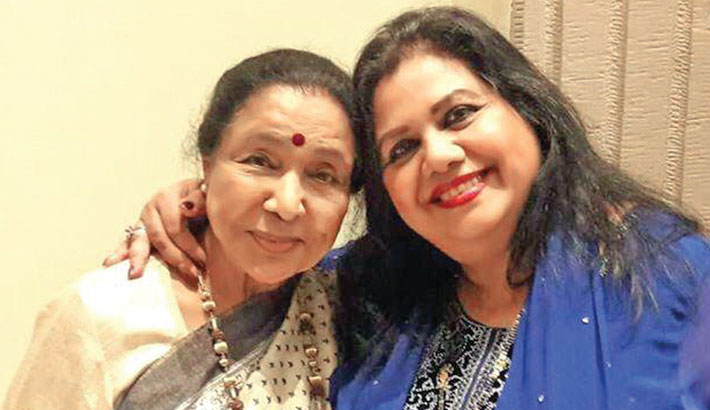Asha Bhosle's song on Runa's composition releases today