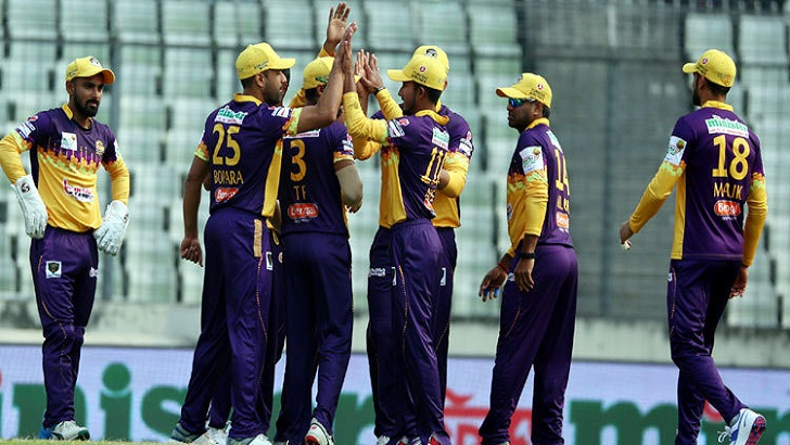 Rajshahi Royals send Sylhet Thunder to bat
