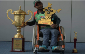 Mohasin- a cricket crusader on wheelchair