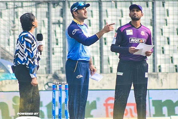 Chattogram Challengers win toss, opt to field against Rangpur Rangers