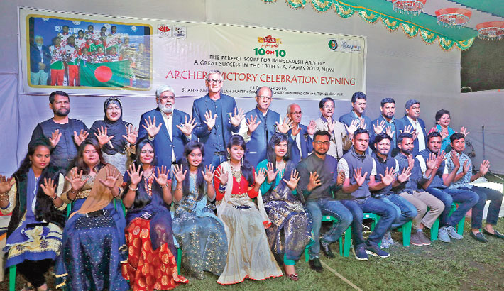 Federation accords reception to archers