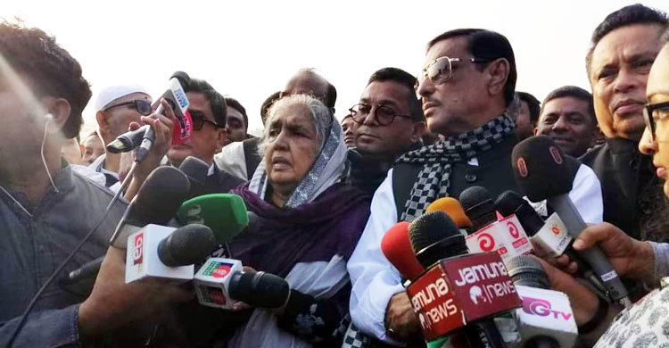 Action should be taken against Sangram for calling war criminal a 'martyr': Quader