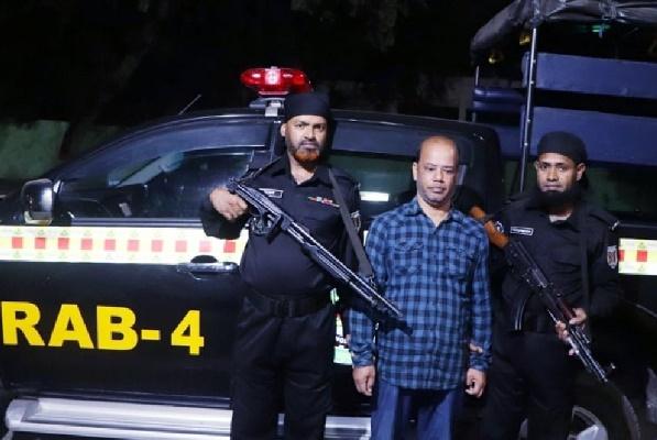 UP member held with pistol, ammo in Savar