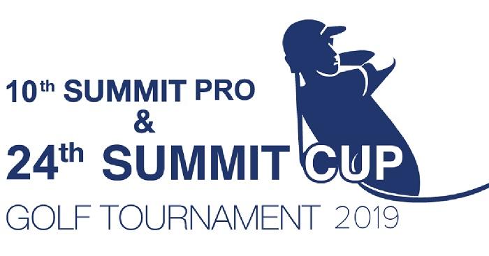 10th Summit Professional & 24th Summit Cup Golf Tournament begins