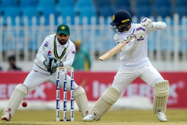 Sri Lanka declare on 308-6 in first Test against Pakistan