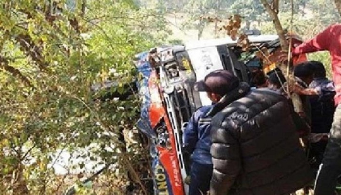 Bus crash kills at least 14 in central Nepal
