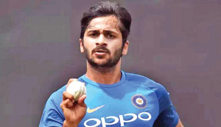 Paceman Thakur replaces Bhuvneshwar in ODI squad
