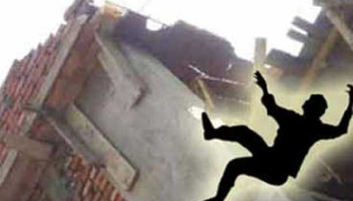 Sanitary worker falls to death in city