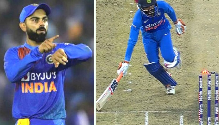 Kohli loses temper after Jadeja's controversial run out