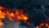 14 shops gutted in Netrakona fire