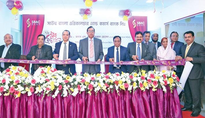 SBAC Bank opens branch  at Mohakhali