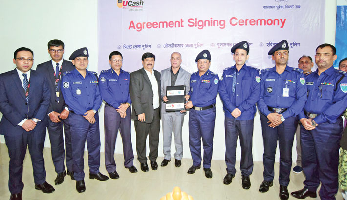 UCB inks deal with Sylhet Range Police