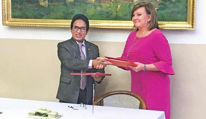 Deal signed with Czech Republic to avoid double taxation