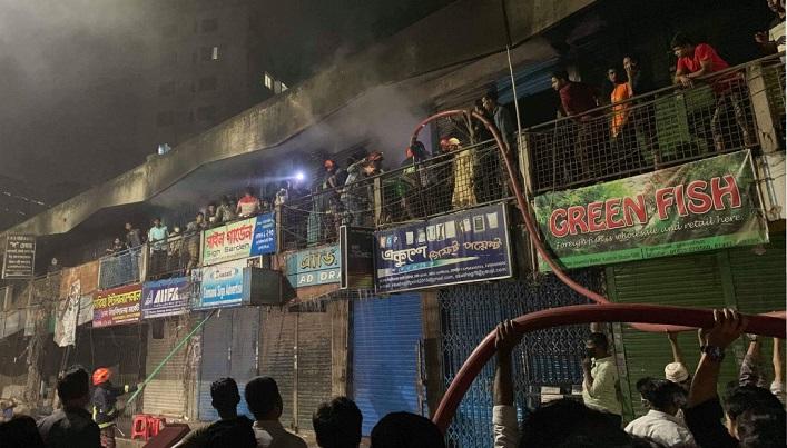 Kataban Market fire extinguished