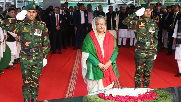 Prime Minister pays homage to Bangabandhu on Victory Day