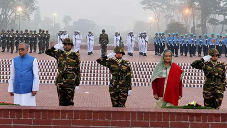 President, PM pay tributes to war heroes on Victory Day