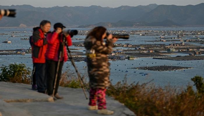China coastal flats develop into major photo draw