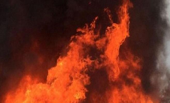 Fire breaks out in city's Rampura slum