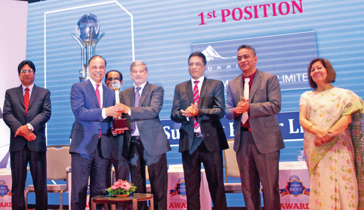 Summit Power  receives ICMAB  Best Corporate Award
