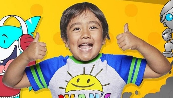 Forbes declares 8-year-old as richest YouTuber of 2019