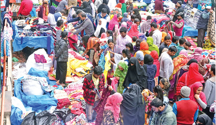 Sale of warm clothes soars