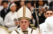 Pope Francis kicks off Christmas celebrations with midnight Mass