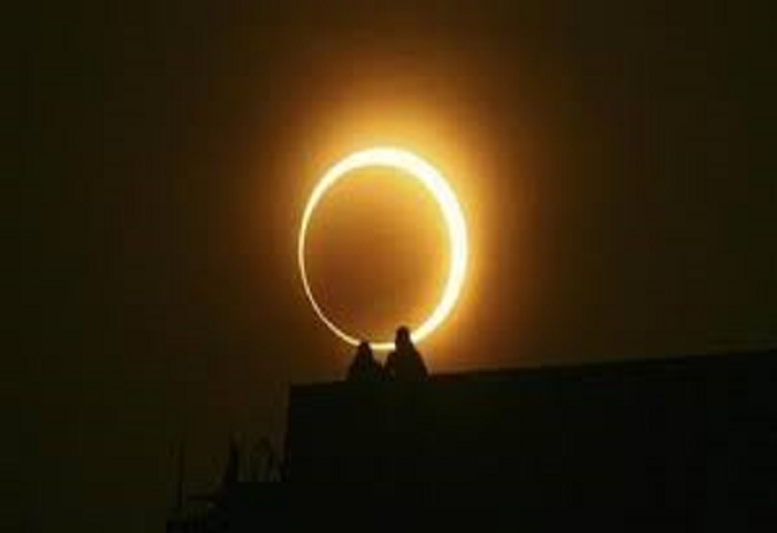 Rare solar eclipse in UAE after 172 years