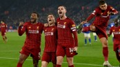 Liverpool thrash Leicester to stretch lead as Tottenham, Man Utd close on Chelsea