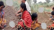 Hoping miracle during solar eclipse, parents bury handicapped kids neck-deep in cattle dung in India