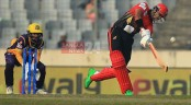 Soumya's 88 of 48 in vain as Rajshahi beat Cumilla by 15-run