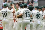 Australia thrash New Zealand despite battling Blundell century