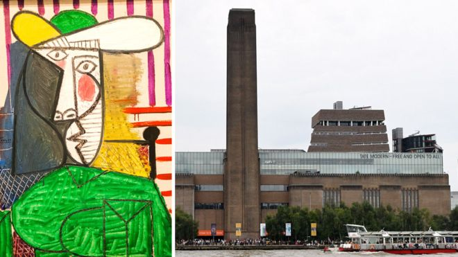 Picasso painting attacked at Tate Modern