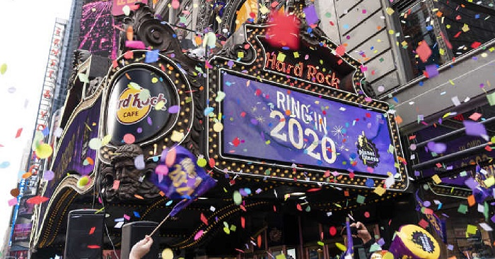 Times Square safest place on Earth for New Year's Eve